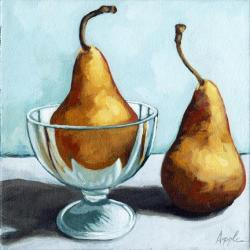 Two Pears - still life