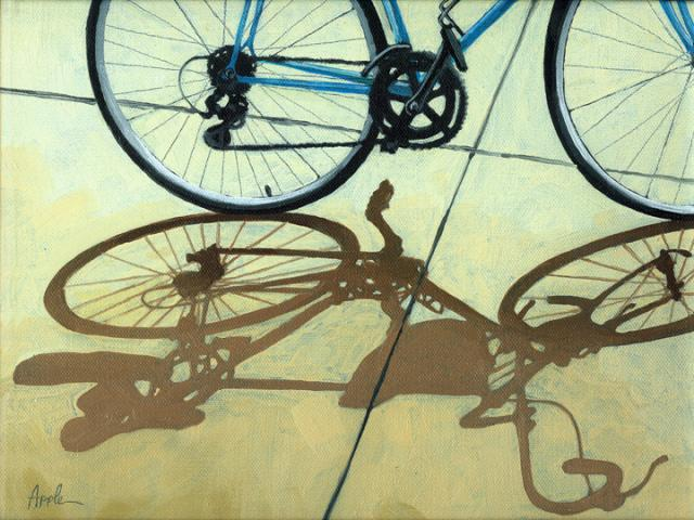Afternoon Delight - Bicycle art