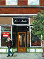 Figurative Fine Art - Black Market