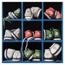 Bowling Shoes - realistic still life