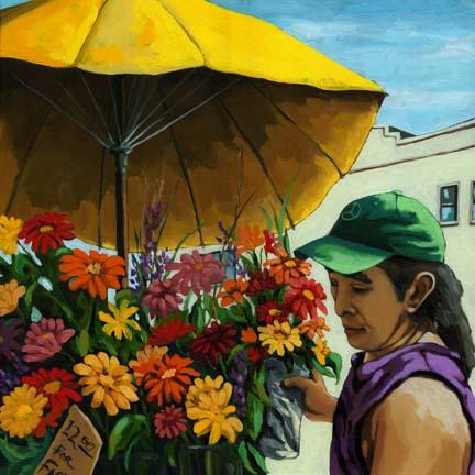 Flowers for Sale @ Market