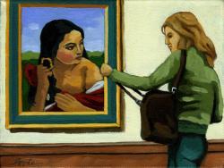 Curiosity - two women