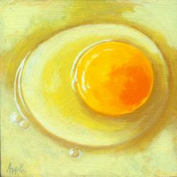 Egg on a Plate - giclee print