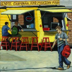 City Scene - Exotic Food
