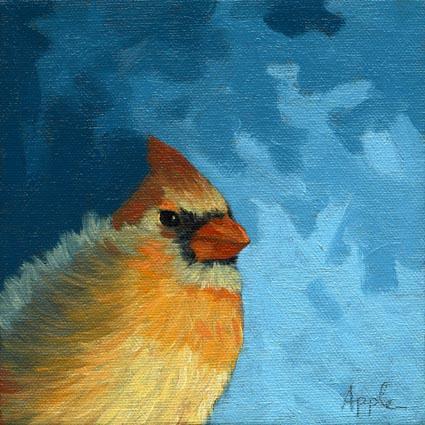 Baby Female Cardinal