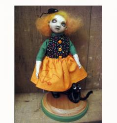 Wishful Thinking - ooak 3D art doll sculpture