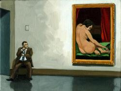 In The Moment - man with nude