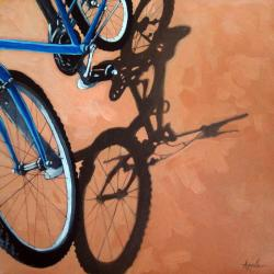 Just for One - bicycle art