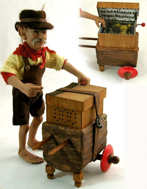 Ludwig Von Smyth - organ grinder