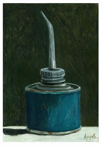 Old Maytag Oil Can