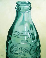Have a Coke - realistic coca cola bottle still life