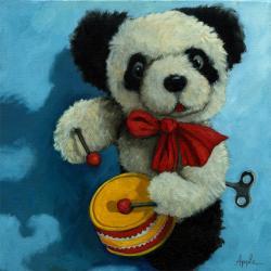 "Still Life Toy Windup - ""Panda Parade"""