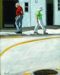 Different Directions - figurative oil painting