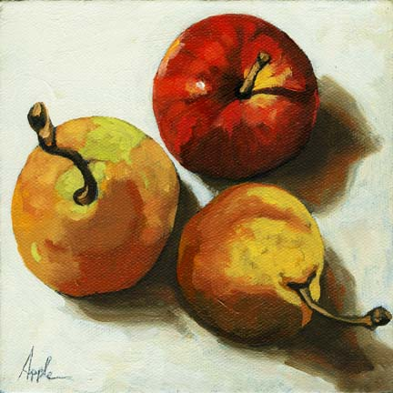 Down on Fruit - pears and apple