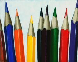 Colored Pencils - realistic still life