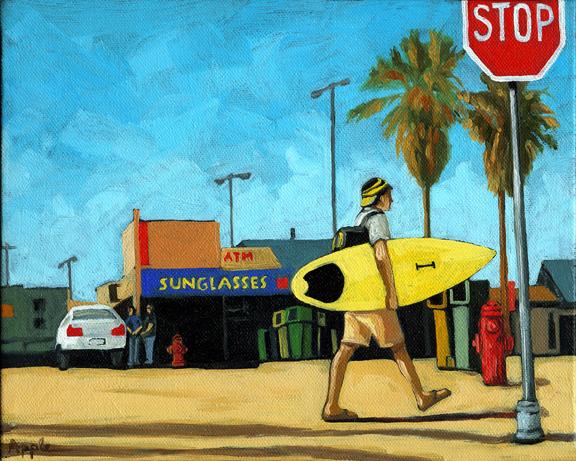 PRINT AVAILABLE - Figurative art - Surf & Turf
