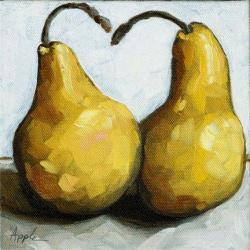 Sweet Pair - still life pears