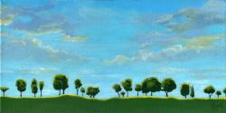Treeline - contemporary landscape