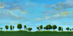 Treeline - contemporary landscape