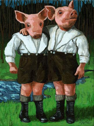 The Famous Tweedle Brothers