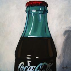 Time for a Cold One - vintage Coke Cola realism