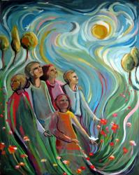 """Expressionistic Figurative - """"Energy of One"""""""