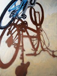 Afternoon Light - bicycle art
