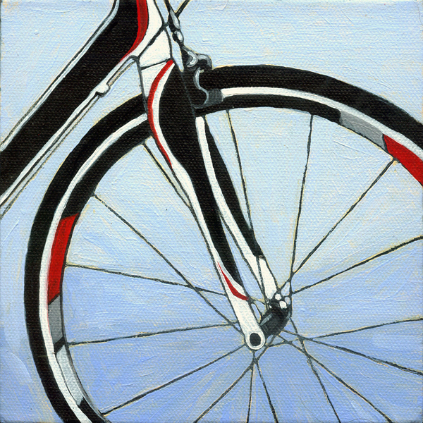 Bicycle Forks - realism bike art