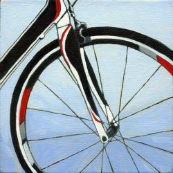 Bicycle Forks - realism bike art