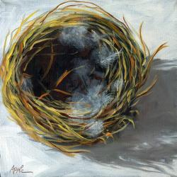 Bird Nest realistic still life